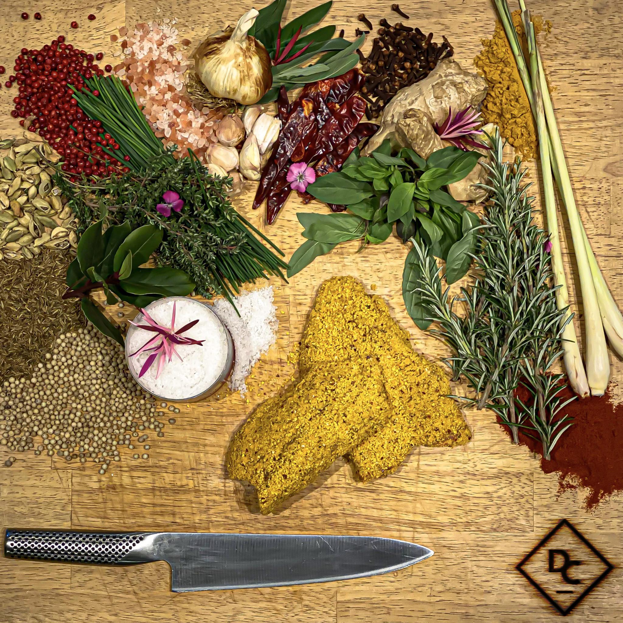 Kip shnitzel curry-1