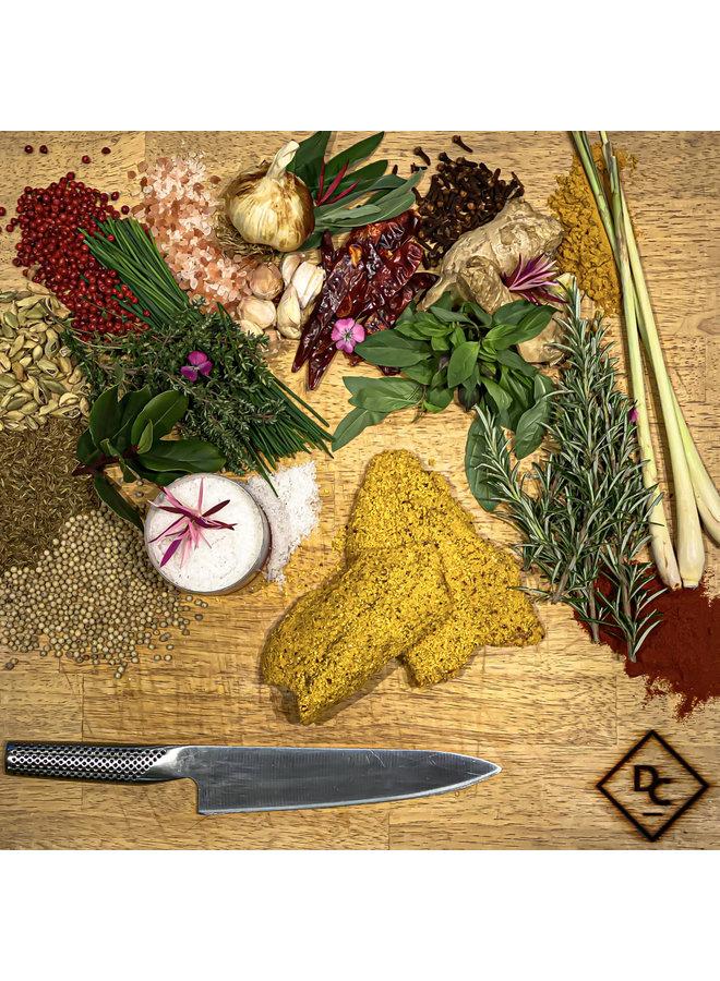 Kip shnitzel curry