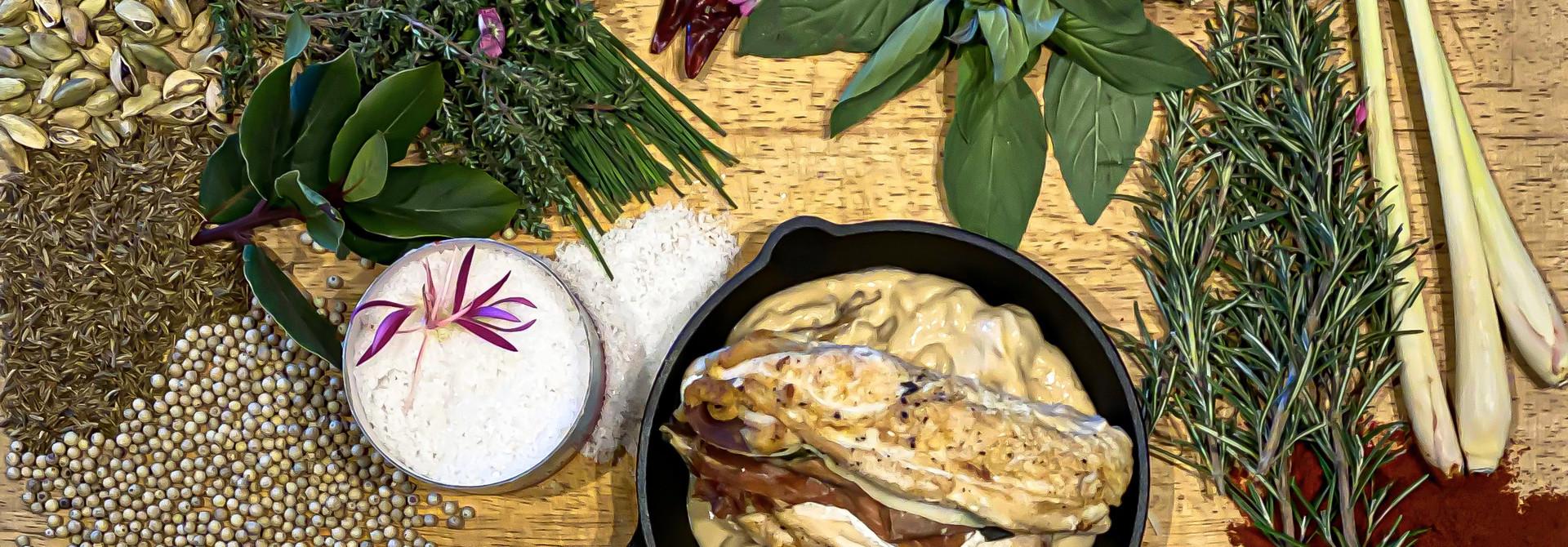 Saltimbocca van kip