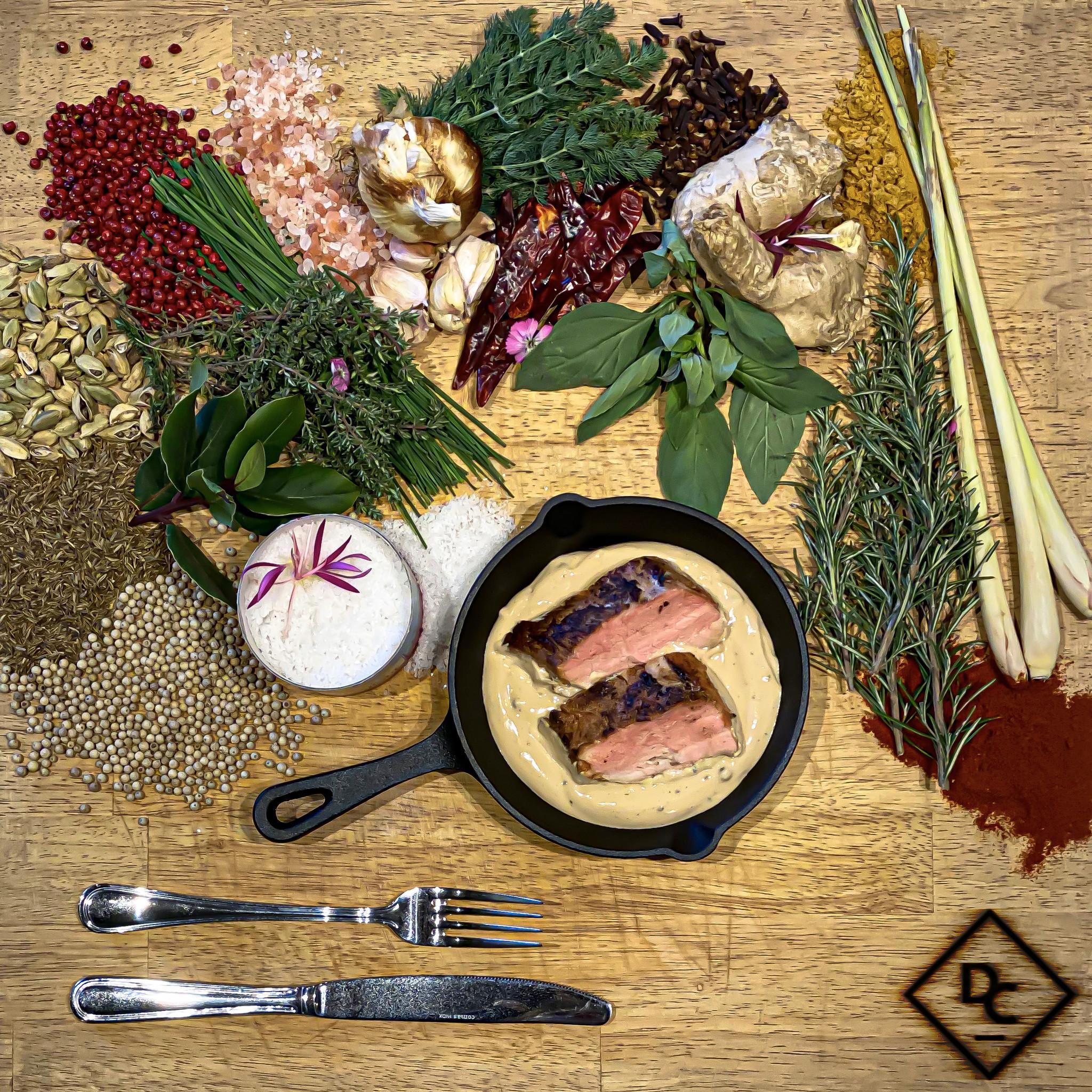 Varkenshaasje in pepersaus-1