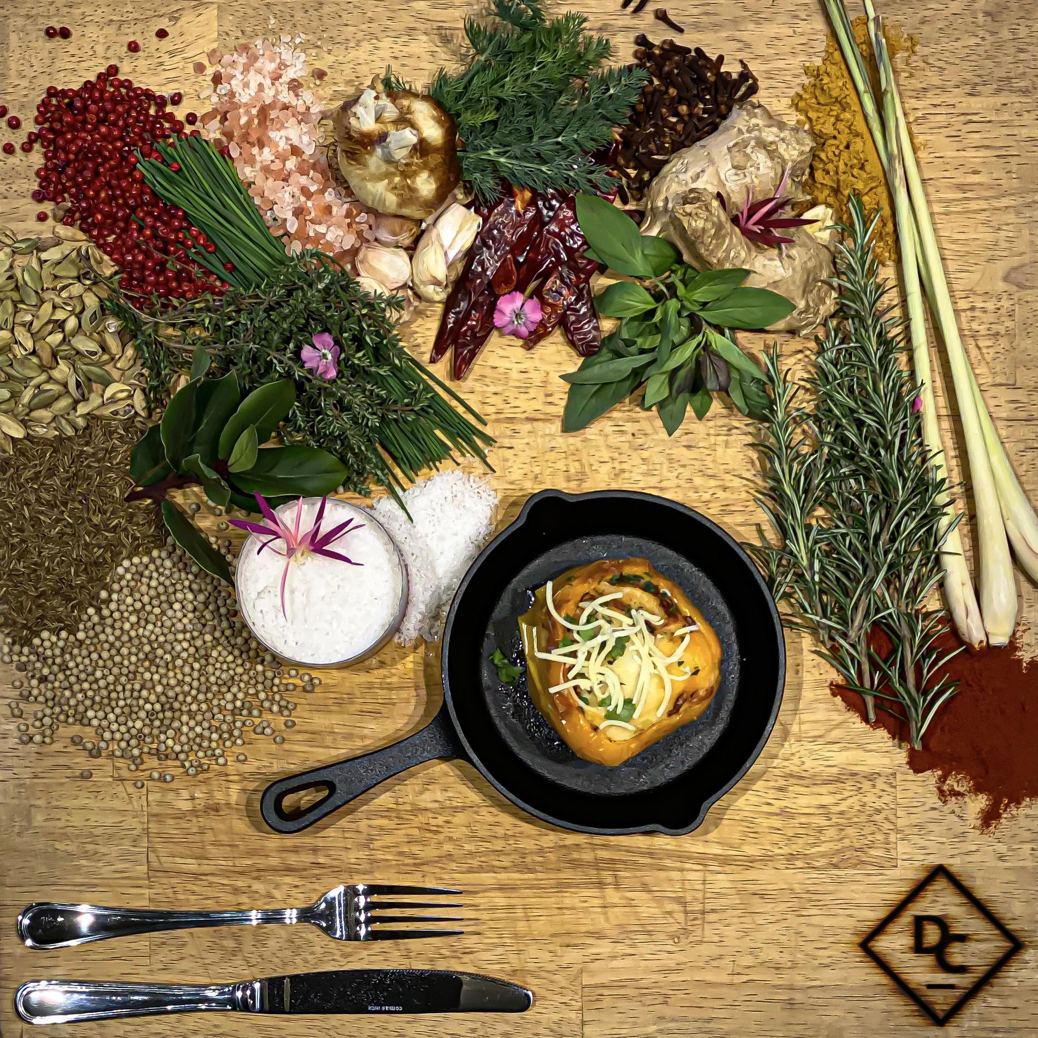 Opgevulde paprika | gevogelte gehakt | Emmenthaler-1