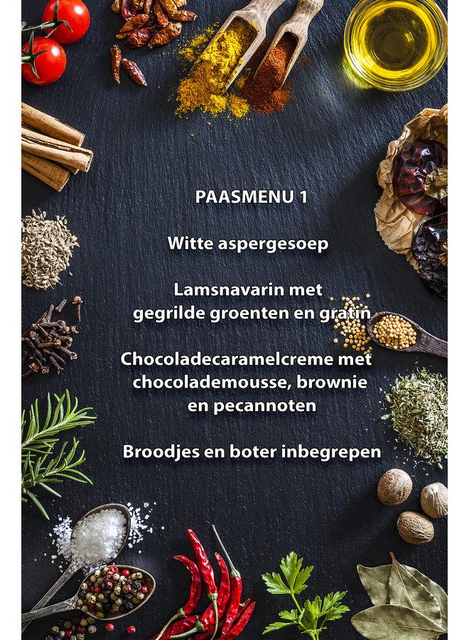 Paas menu 1