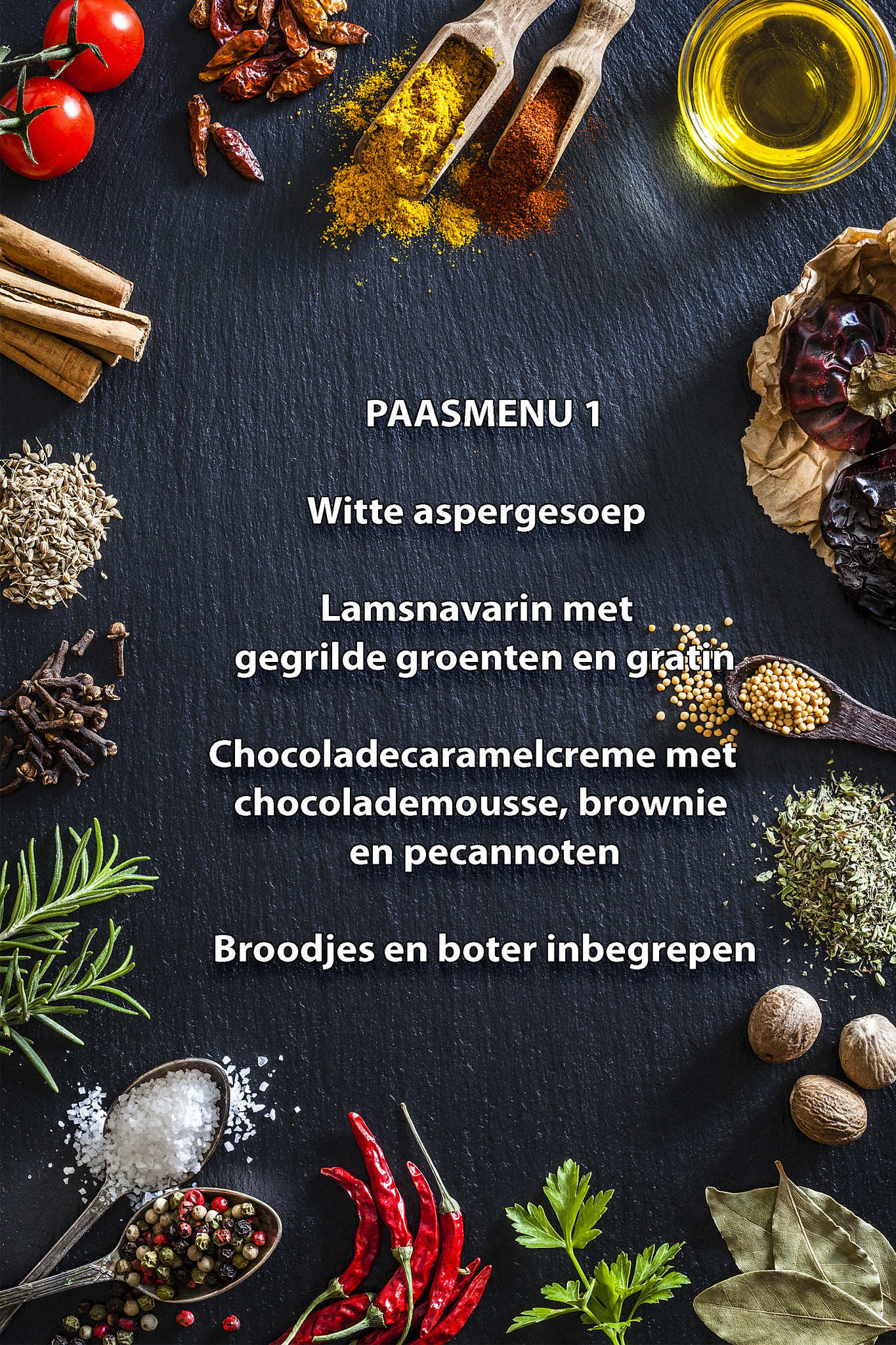 Paas menu 1-1