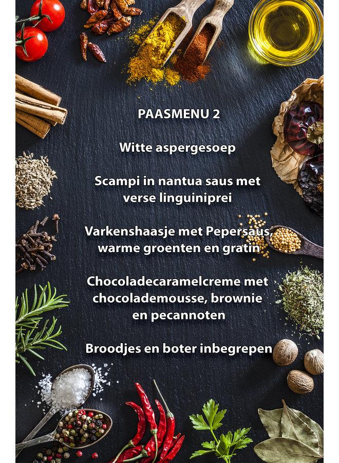 Paas menu 2