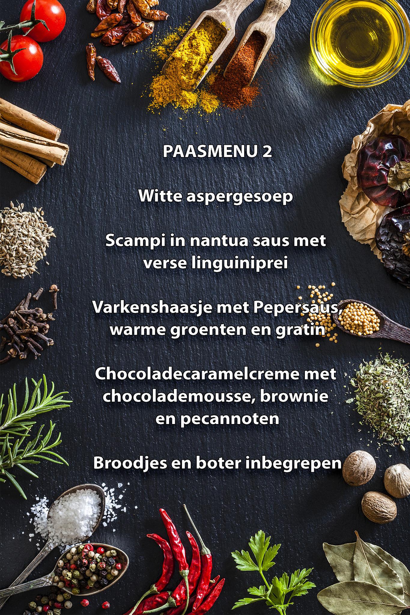 Paas menu 2-1
