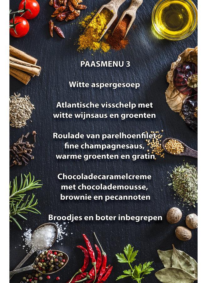 Paas menu 3