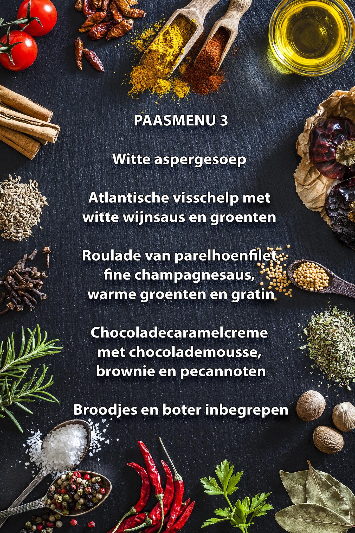 Paas menu 3-1