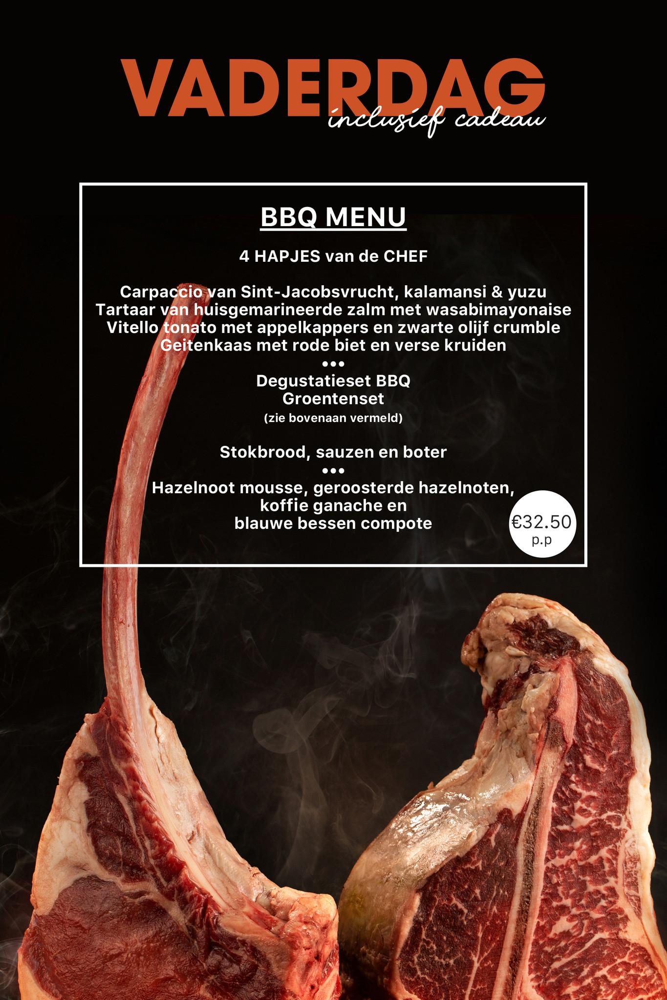 BBQ menu juni-1