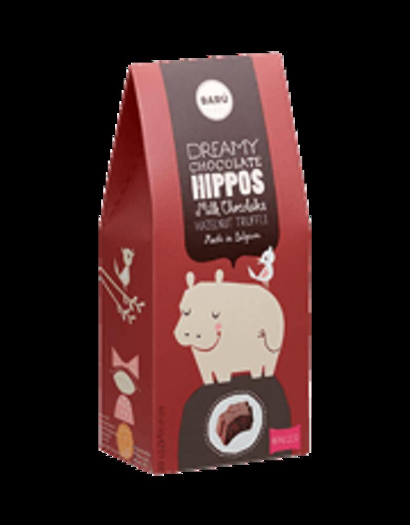 Baru Baru  Dreamy Hippos Milk Chocolate Hazelnut Truffle