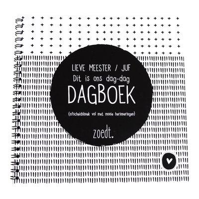 Zoedt zoedt dag dagboek afscheidsboekje voor juffen en meesters