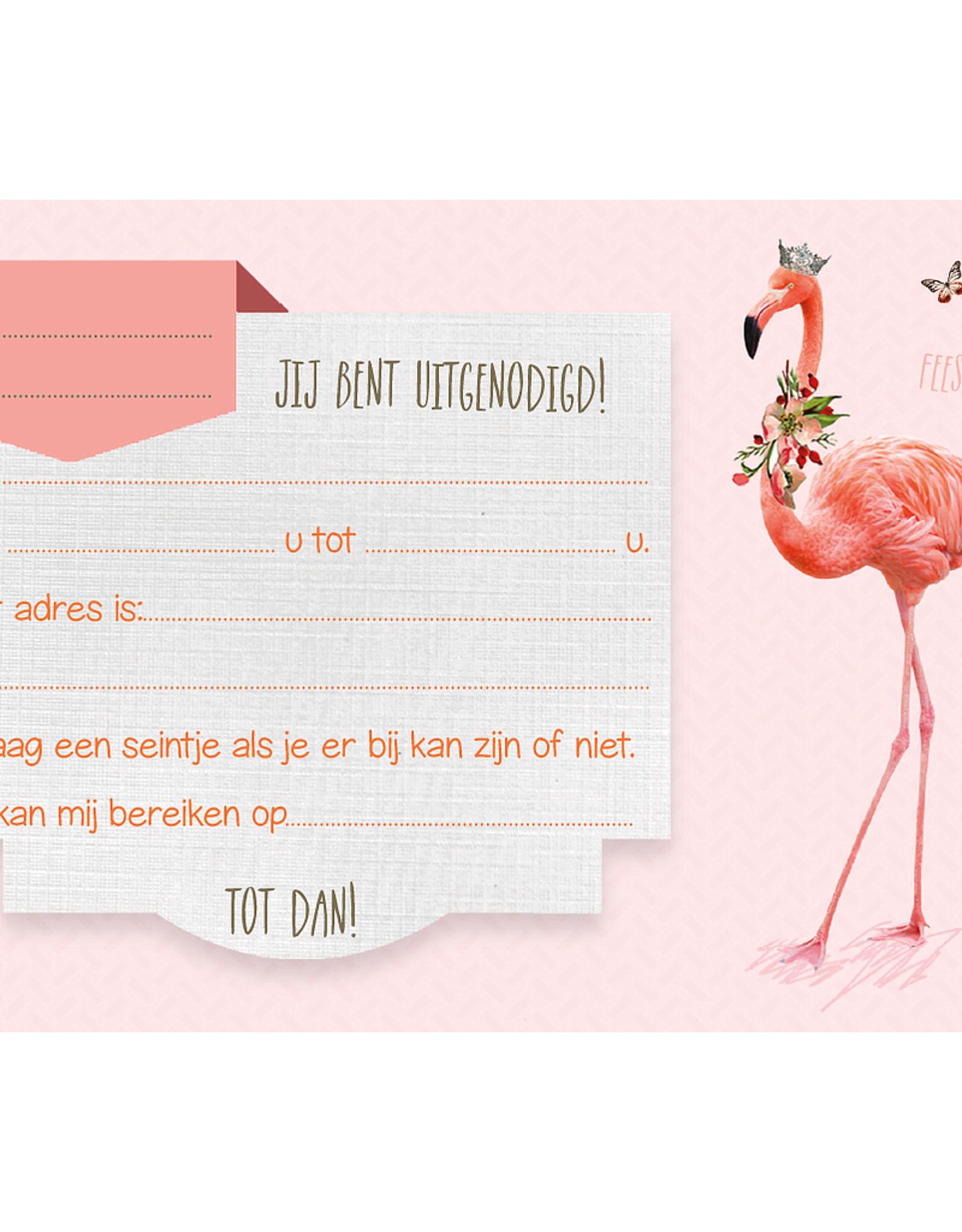 Enfant Terrible Enfant Terrible uitnodigingen flamingo