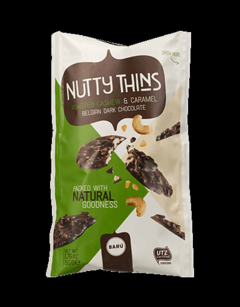 Baru Baru Nutty Thins Dark Chocolate Roasted Cashew & Caramel