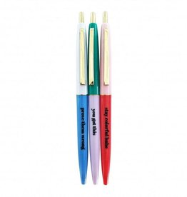 studio stationery Studio stationery stay colorful ballpen set