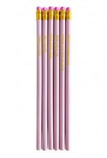studio stationery studio stationery pretty pink pencil set