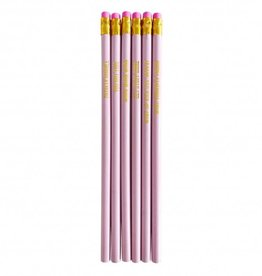studio stationery studio stationery pretty pink pencil set