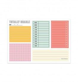 studio stationery studio stationery noteblock totally doable daily plan