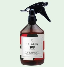 the gift label The gift label roomspray Thank you  (firewood)