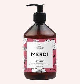 the gift label the gift label handzeep Merci