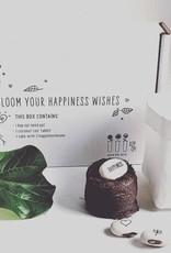 Kop op! Kop op! wensdoosje: Bloom your happiness wishes