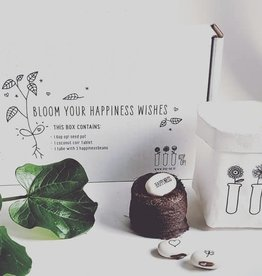 Kop op! Kop op! wensdoosje: Bloom your happiness wishes