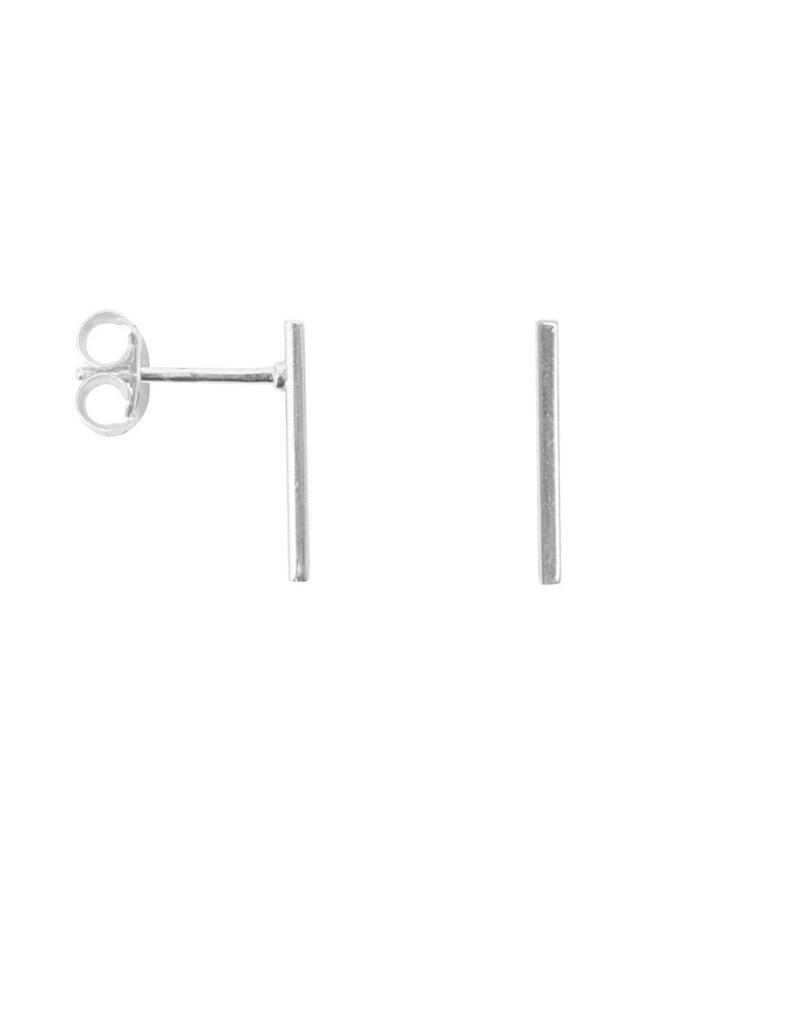 Label kiki Label kiki Bar earring silver