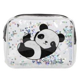 A little lovely company ALLC toilettasje glitter panda