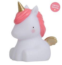 A little lovely company ALLC klein lampje unicorn goud