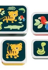 A little lovely company ALLC lunch & snackbox set: Jungle