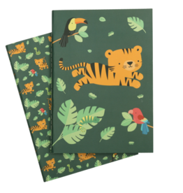 A little lovely company ALLC A5 notebooks jungle tiger