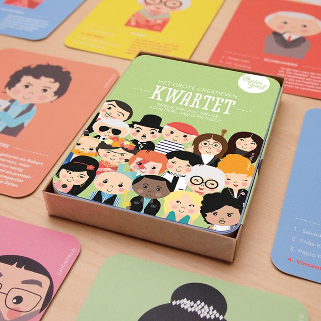 Papiergoed Papiergoed het grote creatieven kwartet