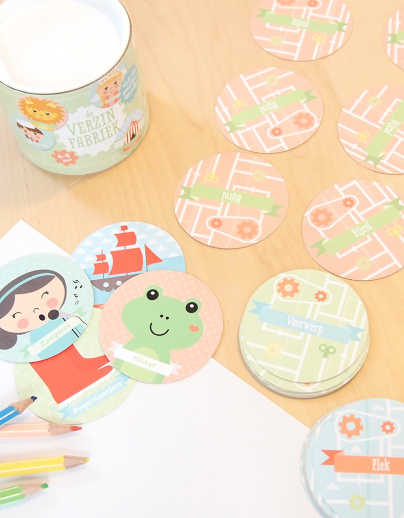 Papiergoed Papiergoed De verzinfabriek 4 tot 8 jaar