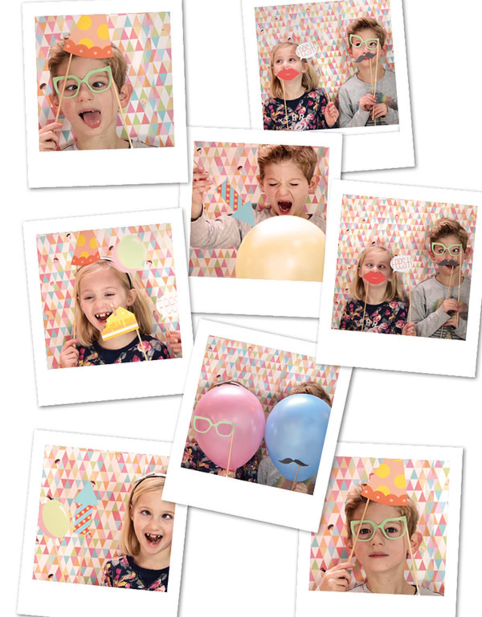 Papiergoed Verjaardagskaart Gekheid op een stokje