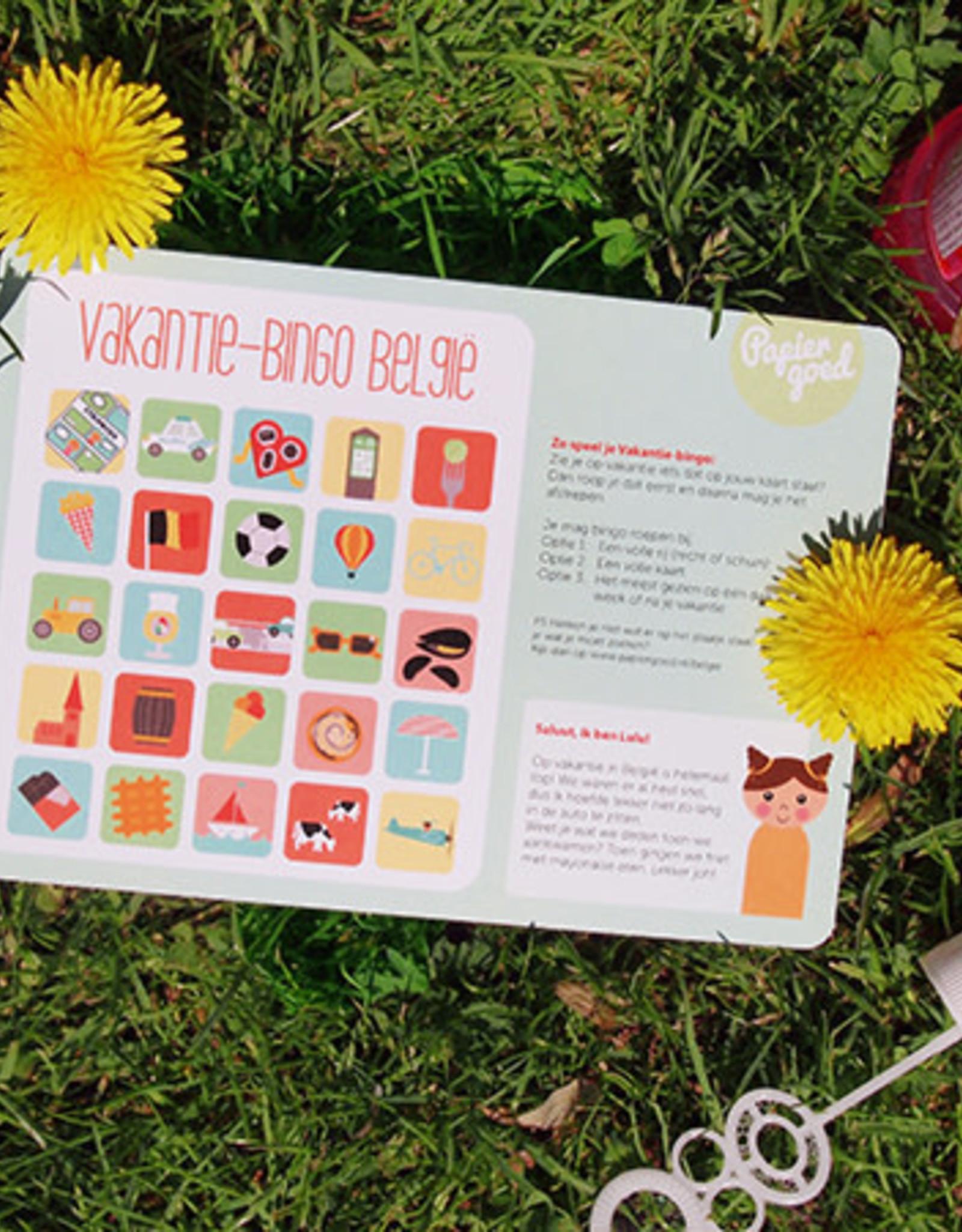 Papiergoed Papiergoed vakantie bingo België