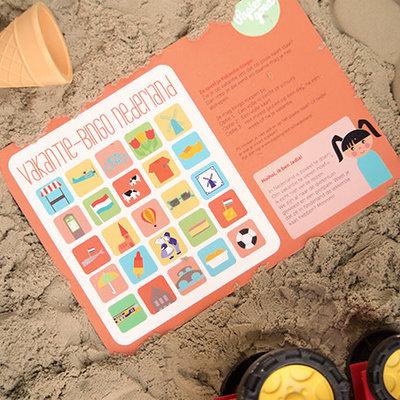 Papiergoed Papiergoed vakantie bingo Nederland