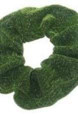 Musthaves Scrunchie glitter groen