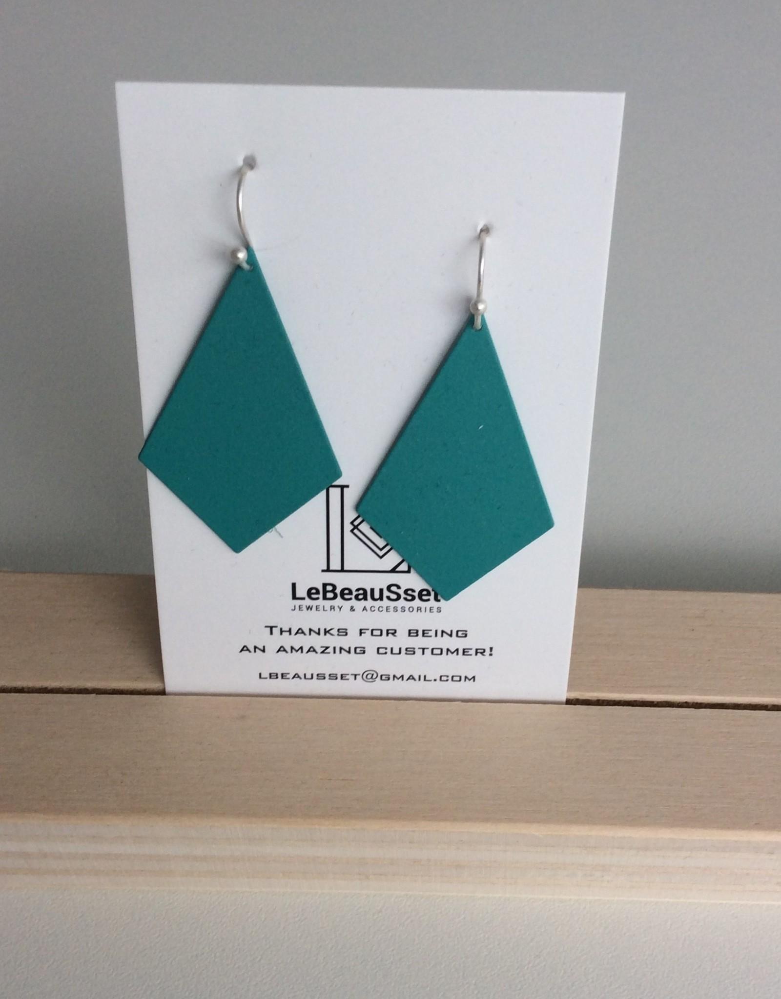 Lebeausset Lebeausset 008 hangers turquoise