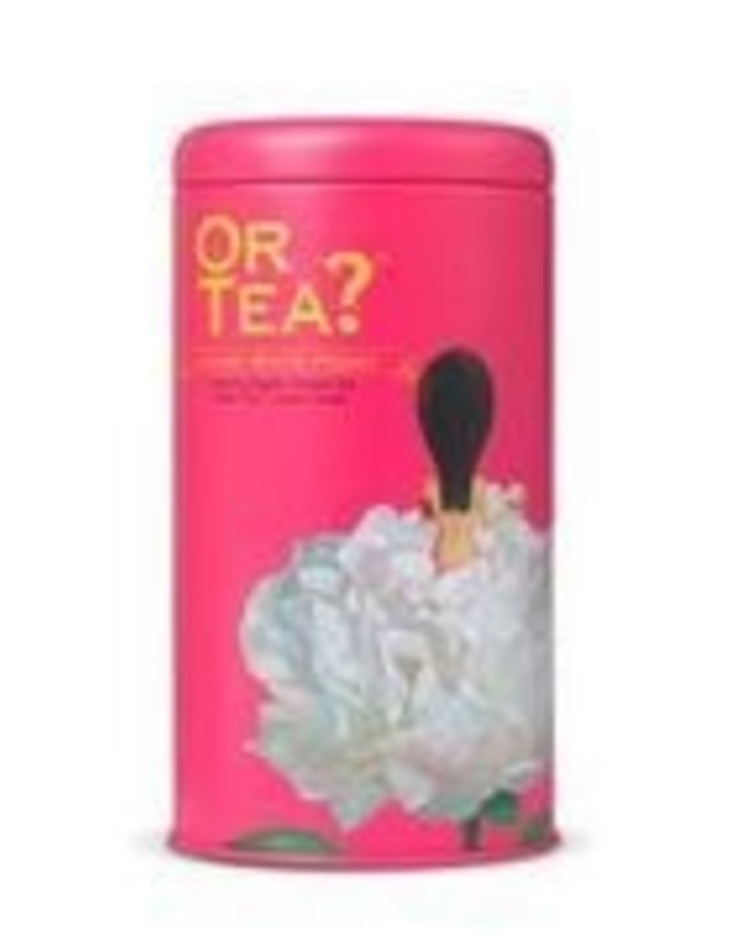 Or tea? or tea? lychee white peony