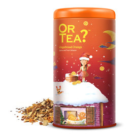 Or tea? or tea? gingerbread orange