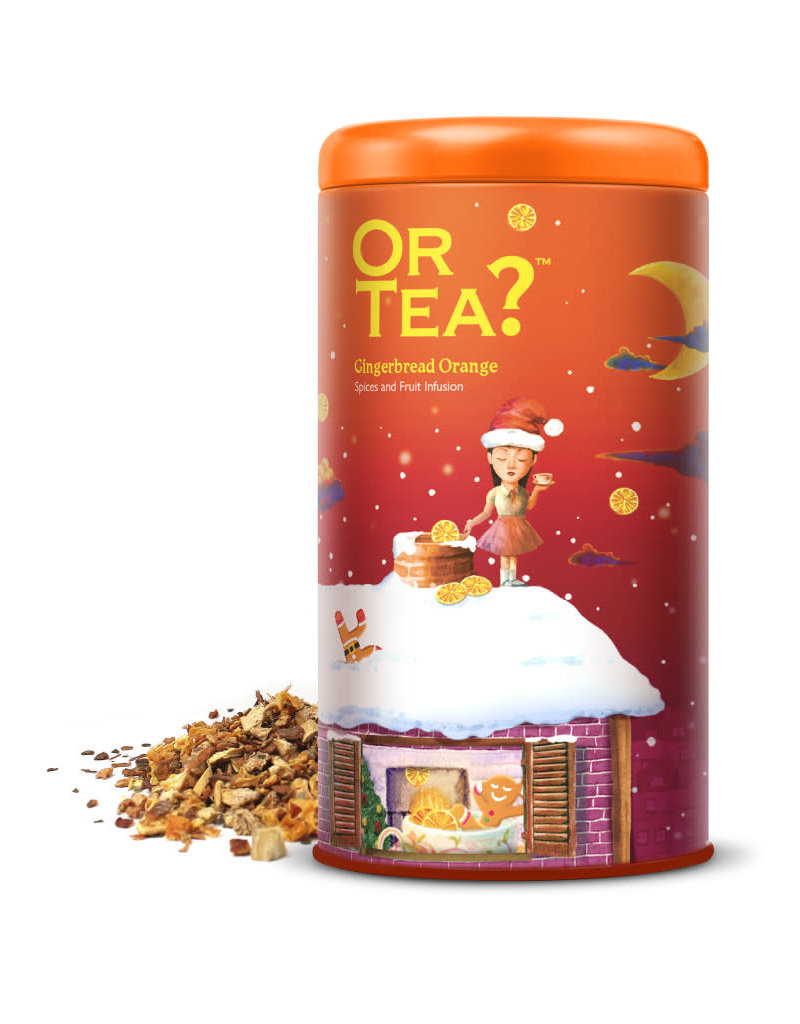 Or tea? or tea? gingerbread orange