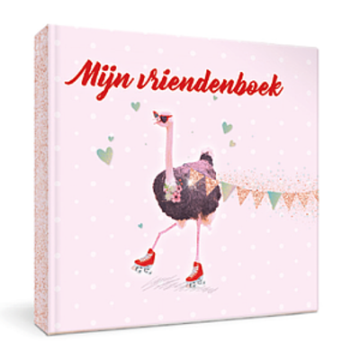Enfant Terrible Enfant Terrible vriendenboek struisvogel