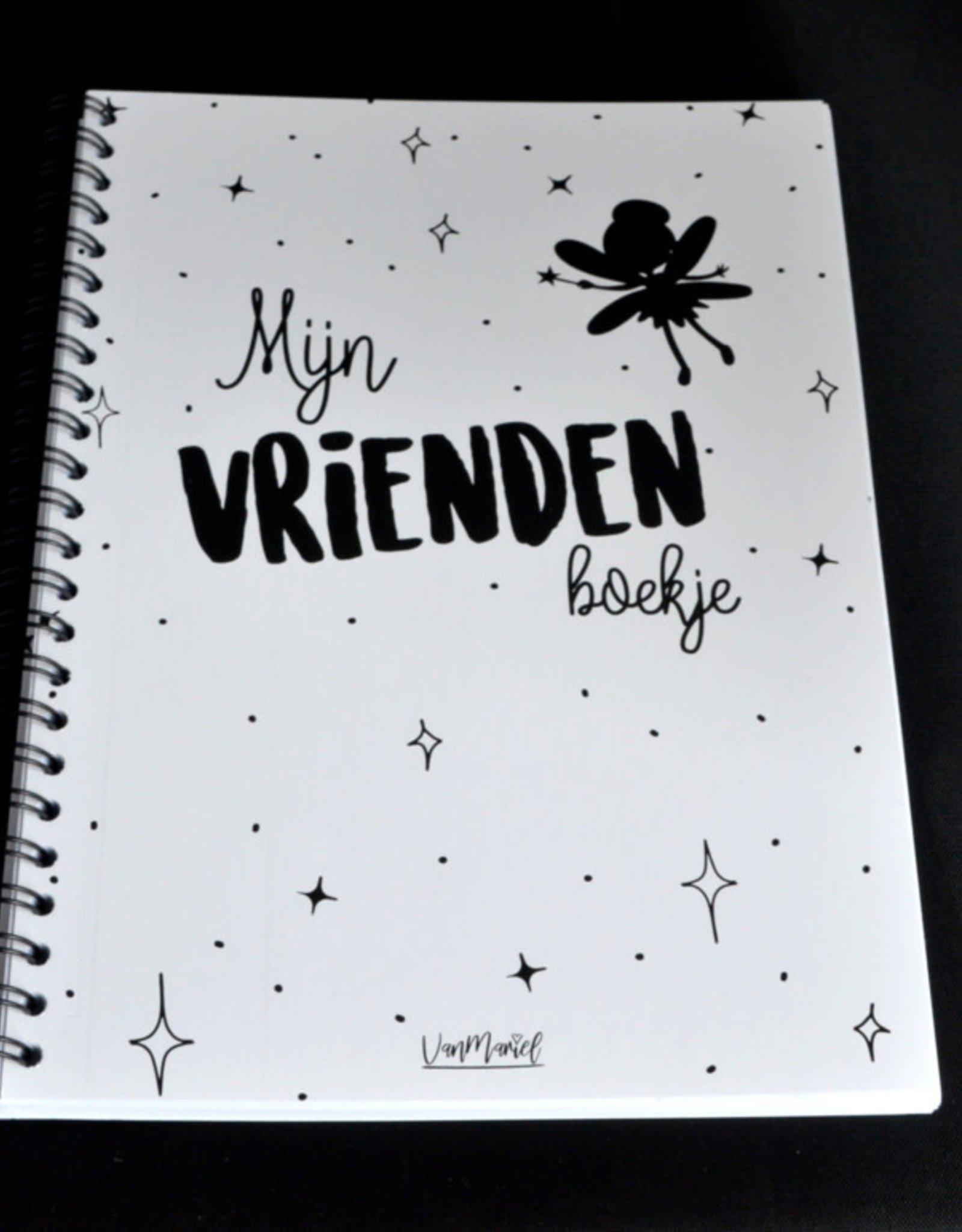 Van Mariel Van mariel vriendenboek meisjes