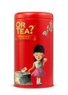 Or tea? or tea? Dragon well with Osmanthus