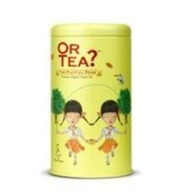 Or tea? or tea? The playful pear