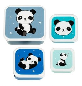 A little lovely company ALLC lunch & snackbox set: panda