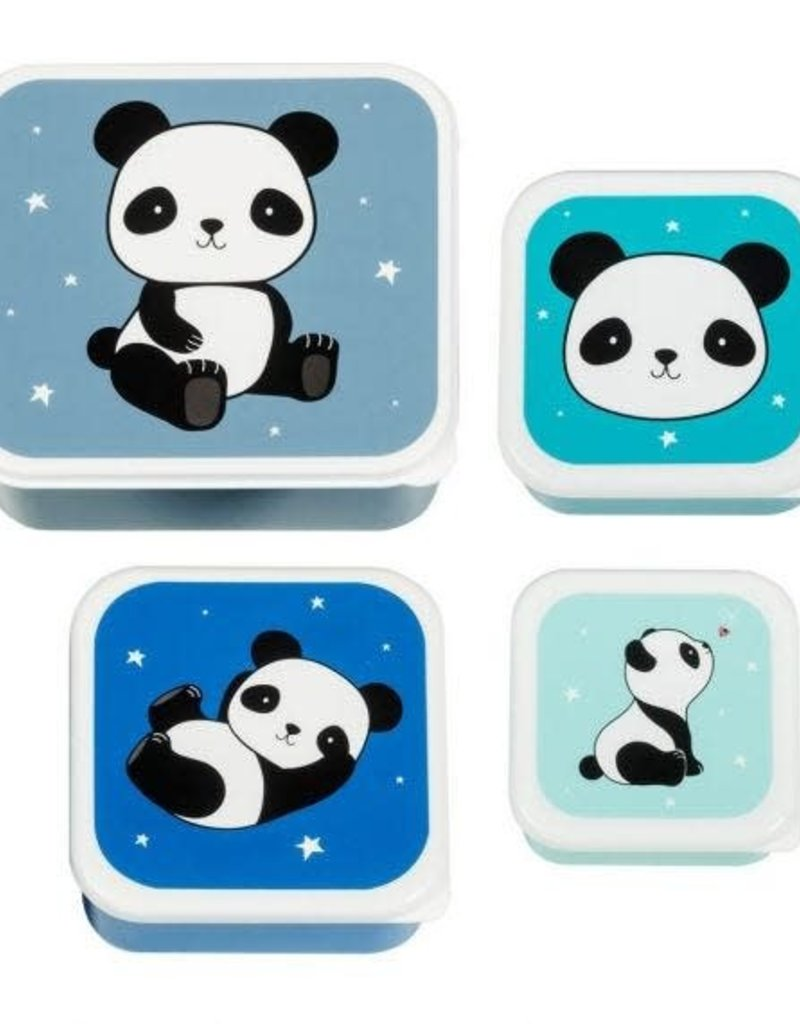 A little lovely company ALLC lunch & snackbox set: panda