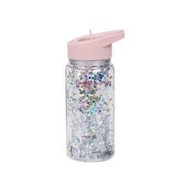 A little lovely company ALLC: Drinkfles pink/silver