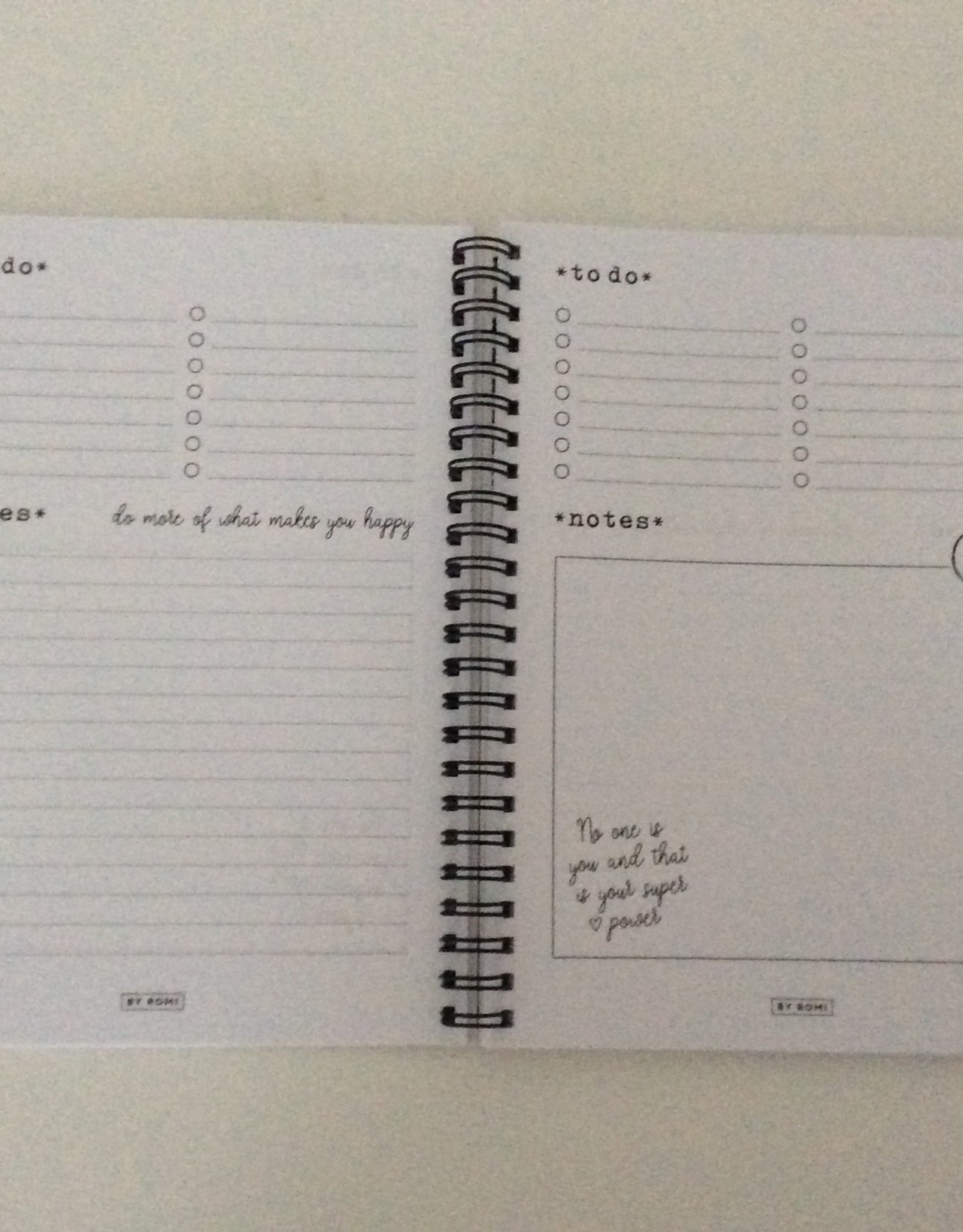 By romi by romi notebook a5 Wild ideas