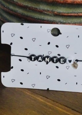 Lief label Lief label 1 armbandje TANTE