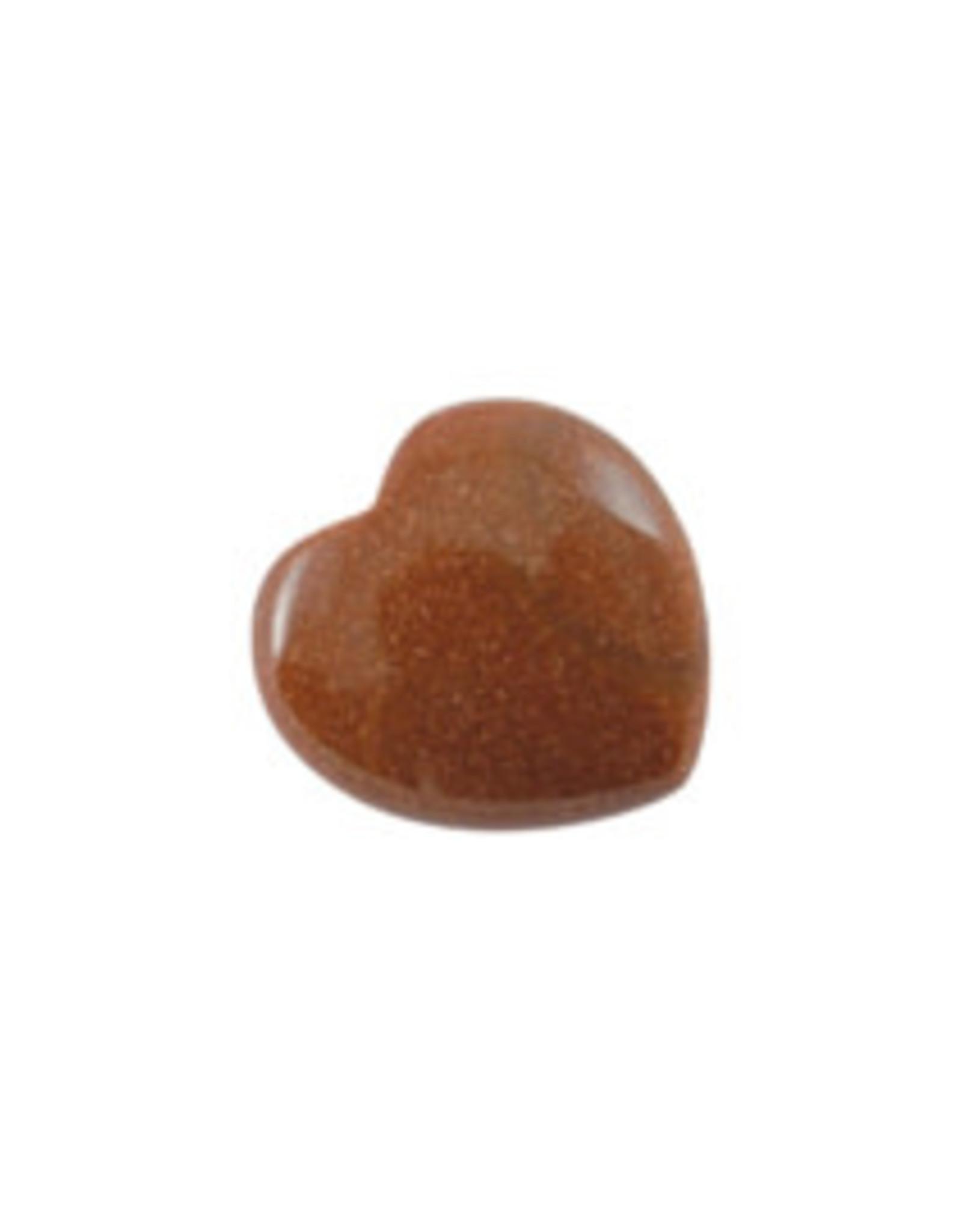 By romi Cadeauzakje met hart (knuffel)steen