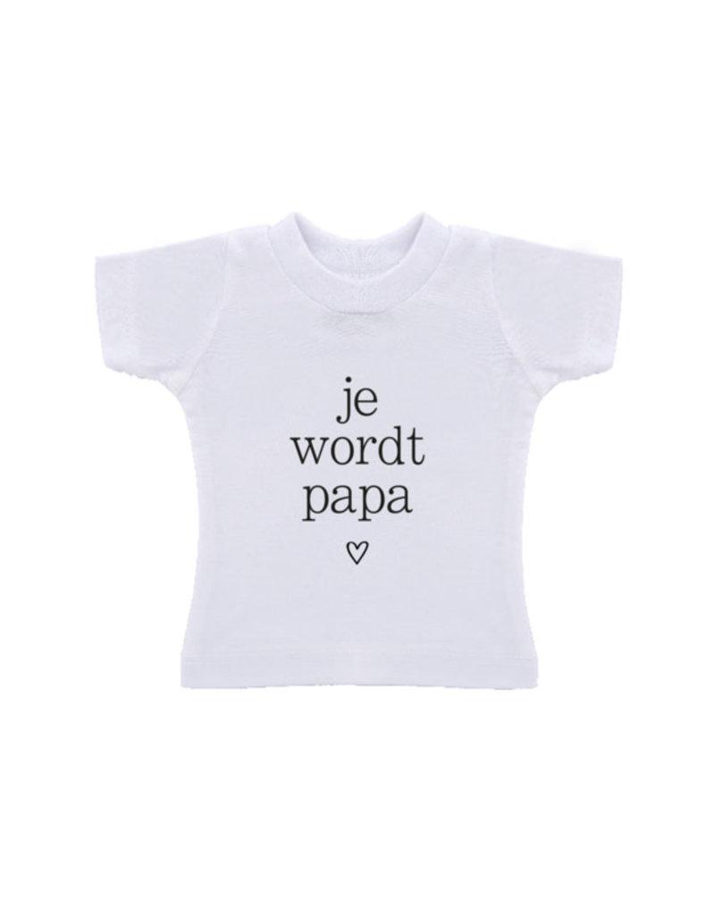 By romi by romi t-shirt in een zak: je wordt papa